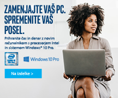 Računalniki SB z Intel Core procesorjem 8gen in windows 10 Pro