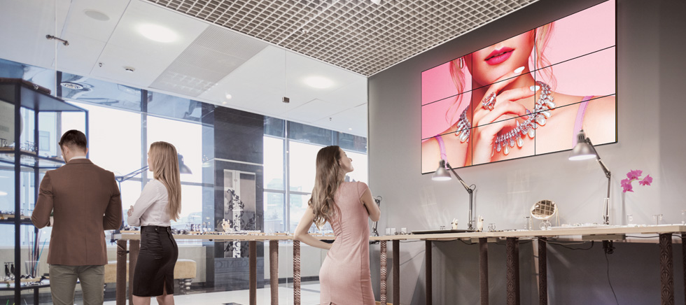 Profesionalni zasloni Philips X linija- Video zid - Videowall